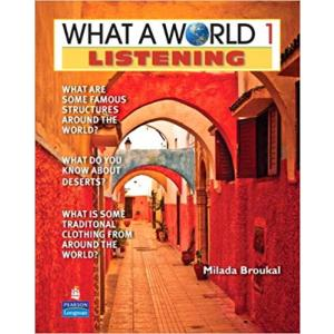 What a World 2ed Listening 1 Bk/Audio CD