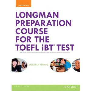 TOEFL Longman Preparation Course iBT Test 3Ed + MyEnglishLab +online MP3