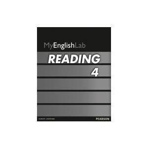 MyEnglishLab Reading 4. Student's AccessCodeCard