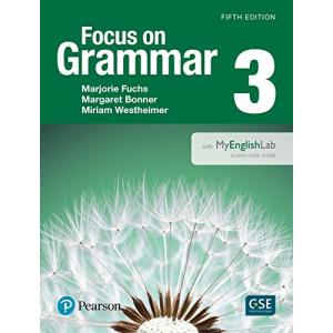 Focus on Grammar Level 3. Podręcznik + MyEnglishLab