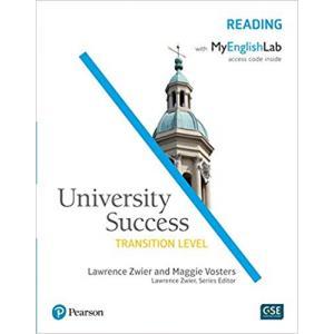 University Success Transition Level: Reading SB with MyEnglishLab