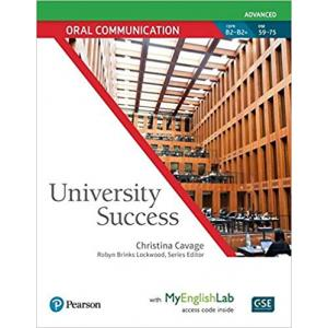 University Success Advanced: Oral Communication SB with MyEngLab