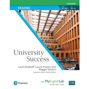 University Success Advanced: Reading SB with MyEngLab