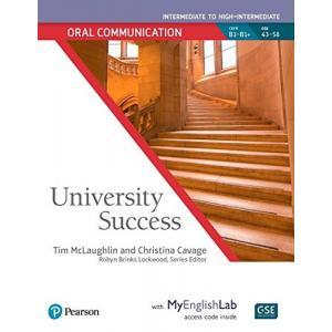University Success Intermediate: Oral Communication SB with MyEngLab