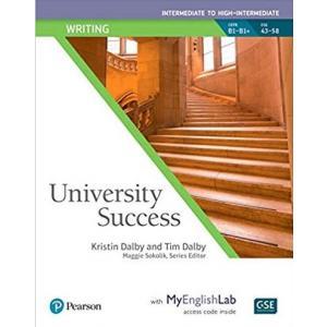University Success Intermediate: Writing SB with MyEngLab