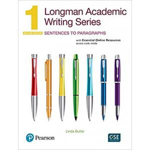 Longman Academic Writing Series 1: Sentences to Paragraphs 2Ed with EOR