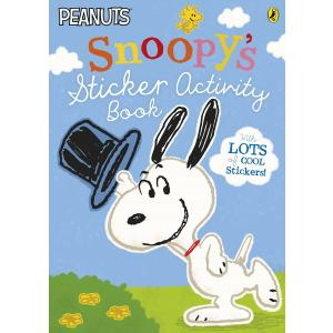 Peanuts: Snoopy's Sticker Activity Book. PB