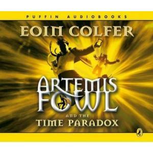 Artemis Fowl and the Time Paradox. Colfer, Eoin. AudioCD