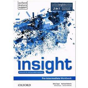 Insight Pre-Intermediate. Ćwiczenia + Online Practice