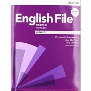 English File 4th Edition Beginner. Ćwiczenia z Kluczem