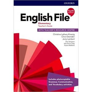 English File 4th Edition Elementary. Teacher's Guide + Teacher's Resource Centre