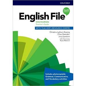 English File 4th Edition Intermediate. Teacher's Guide + Teacher's Resource Centre