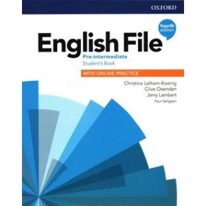English File 4th Edition Pre-Intermediate. Podręcznik + Online Practice