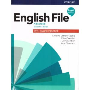English File 4th edition. Advanced. Student's Book + kod online