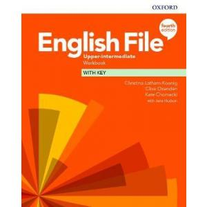 English File 4th Edition Upper-Intermediate. Workbook + key