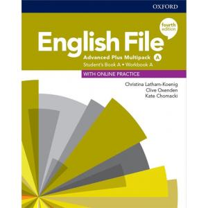 English File. 4th edition. Advanced Plus. Multipack A. Student's Book + Workbook + Online Practice