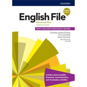 English File. 4th edition. Advanced Plus. Teacher's Guide + Teacher's Resource Centre