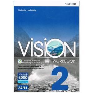 Vision 2. Workbook + kod online. Wyd.2019