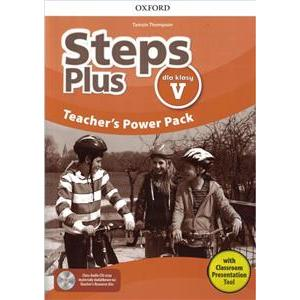 Steps Plus. Teacher's Power Pack + Kod Dostępu do Classroom Presentation Tool. Klasa 5