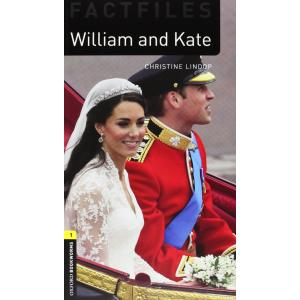 Factfiles 2E 1: William and Kate Book with Audio CD