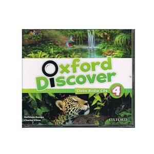 Oxford Discover 4 Cl. CD (3)