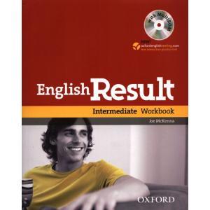 English Result Intermediate WB +CD no key