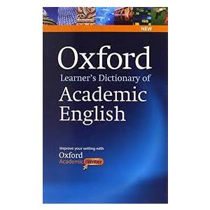 Oxford Learner's Dictionary of Academic English with Academic Writer on CD-ROM