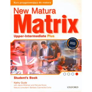 New Matura Matrix Upper Intermediate Plus.    Podręcznik