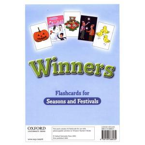 Winners Flashcards for Seasons...