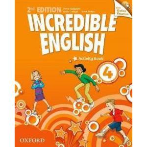 Incredible English 4 Second Edition. Ćwiczenia + Online Practice