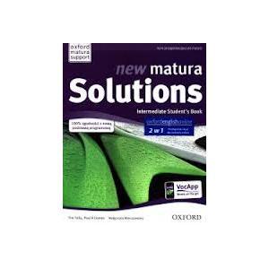 Matura Solutions New Intermediate SB +Online WB