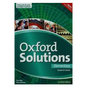 Oxford Solutions. Elementary. Student's Book