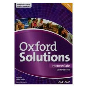 Oxford Solutions Intermediate. Podręcznik