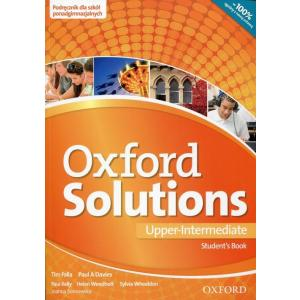 Oxford Solutions Upper Intermediate. Podręcznik