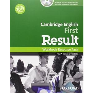 Cambridge English First Result 2015 Workbook with Multi Rom & Online practice