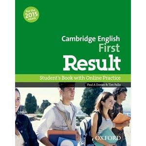 Cambridge English First Result 2015 Student's Book with Online Practice