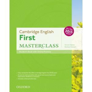 Cambridge English First Masterclass. Podręcznik + Online Practice