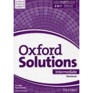 Oxford Solutions Intermediate. Ćwiczenia
