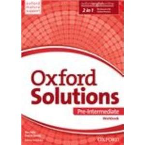 Oxford Solutions Pre-Intermediate. Ćwiczenia + Online Practice