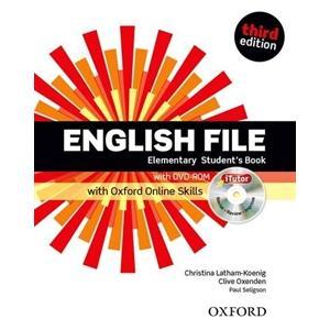 English File Elementary. Podręcznik + DVD + Online Skills