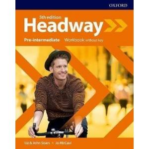 Headway. 5th edition. Pre-Intermediate. Workbook without key