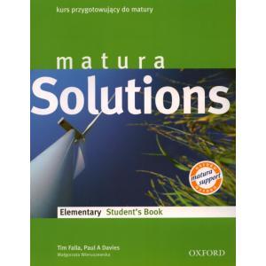 Matura Solutions Elementary.    Podręcznik