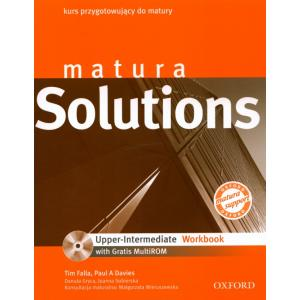 Matura Solutions Upper Intermediate. Ćwiczenia + MultiROM