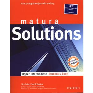 Matura Solutions Upper Intermediate. Podręcznik