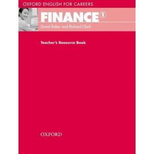 Oxford English for Careers: Finance 1. Książka Nauczyciela