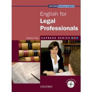 English for Legal Professionals. Podręcznik + CD