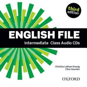 English File Intermediate. CD do Podręcznika