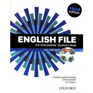 English File Pre-Intermediate. Podręcznik + DVD