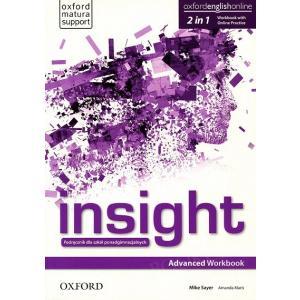 Insight. Advanced. Workbook + Online Practice. Wyd.2020