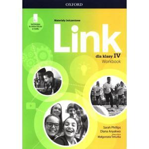 Link. Szkoła podstawowa klasa 4. Materiały ćwiczeniowe + Online Practice